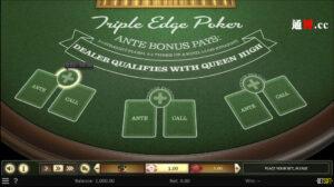 通博-triple-edge-poker