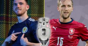 歐洲盃 - 蘇格蘭 VS 捷克