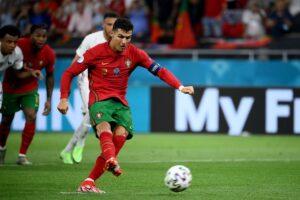 葡萄牙C羅法國本澤馬各踢進兩球