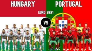 Euro-2020-匈牙利 VS 葡萄牙