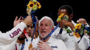 奧運首場就敗給法國隊中止連勝的美國隊